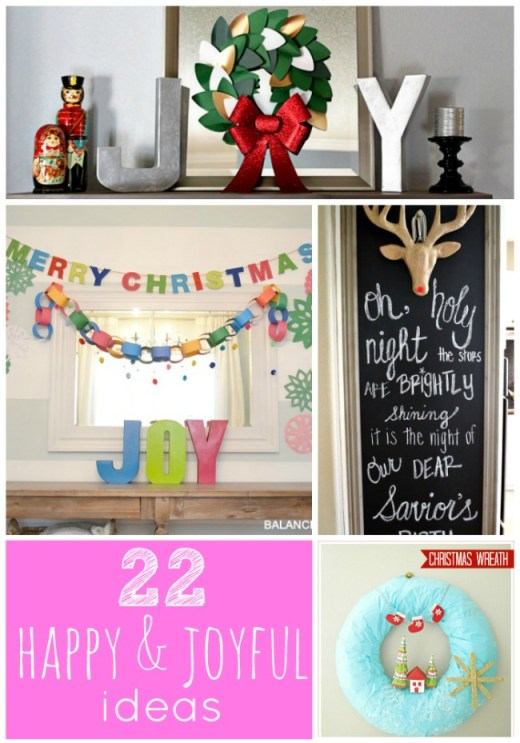 22 happy and joyful ideas