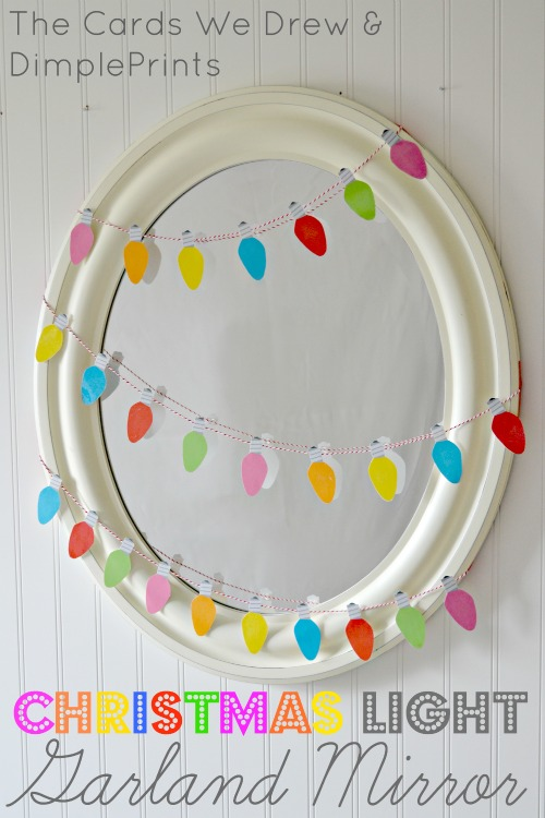 Christmas-Light-Garland-Mirror-with-Free-Printable-from-DimplePrints