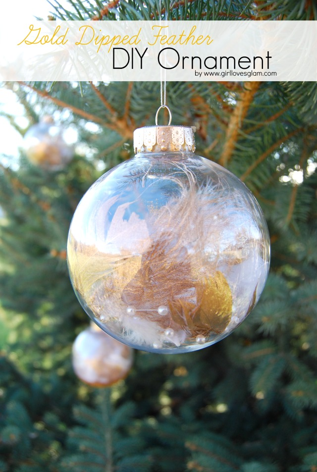 Gold-Dipped-Feather-DIY-Ornament