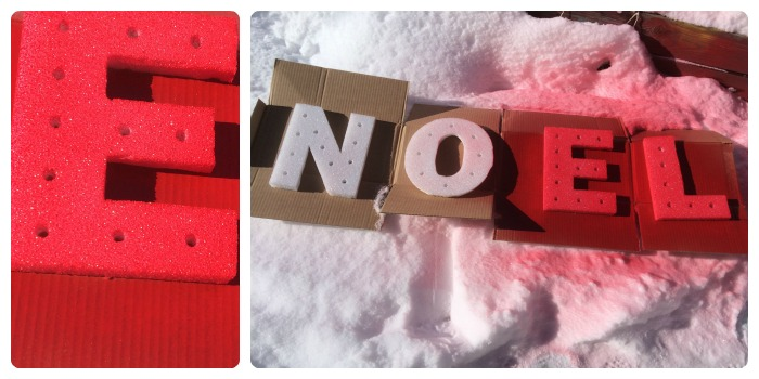 foam marquee letters collage 5