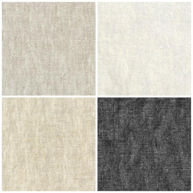 metallic linen fabrics