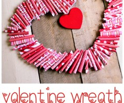 Valentine's Wreath by Place of My Taste