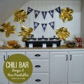 chili bar free printables and recipe using dollar store ingredients