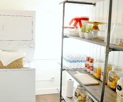 Super Easy Industrial Shelving DIY [#LowesCreator]