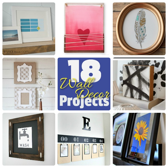 18 wall decor projects