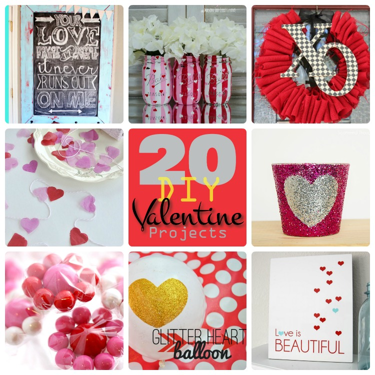 20 diy valentine projects