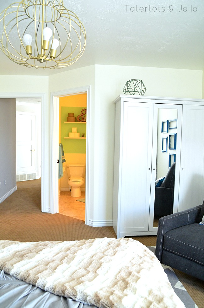bathroom redo and bedroom remodel at tatertots and jello