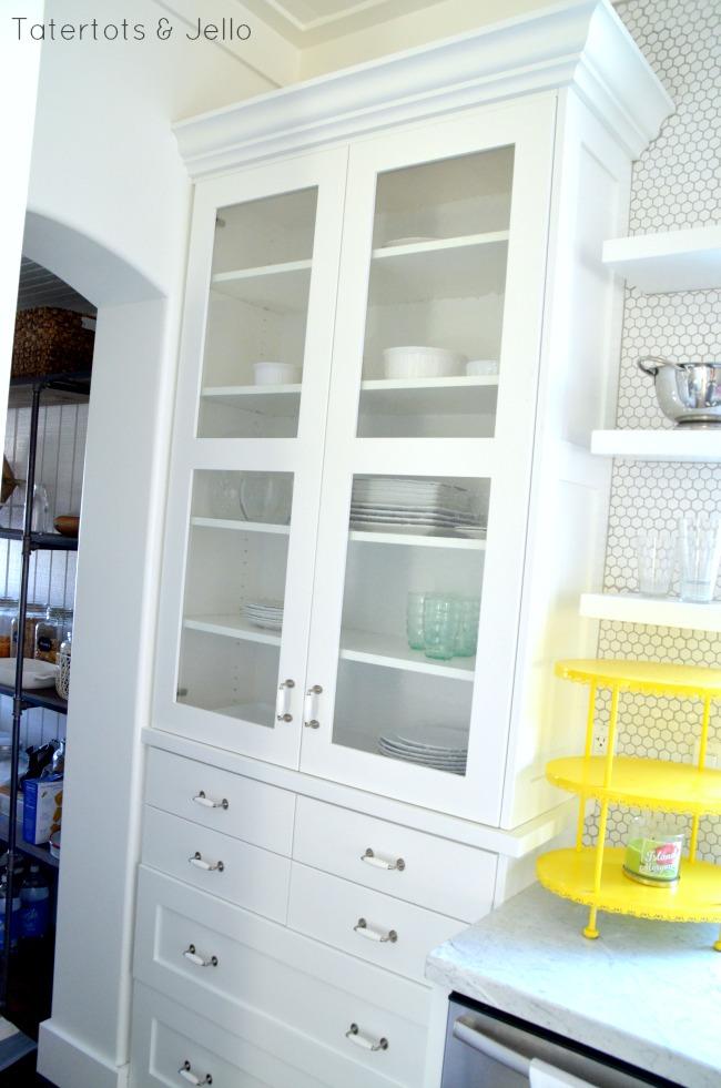 1905 cottage cabinet remodel