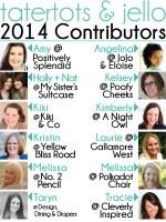 Introducing the 2014 Tatertots & Jello Contributors!