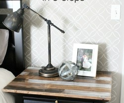 IKEA Lamp Hack: Faux Antique Finish