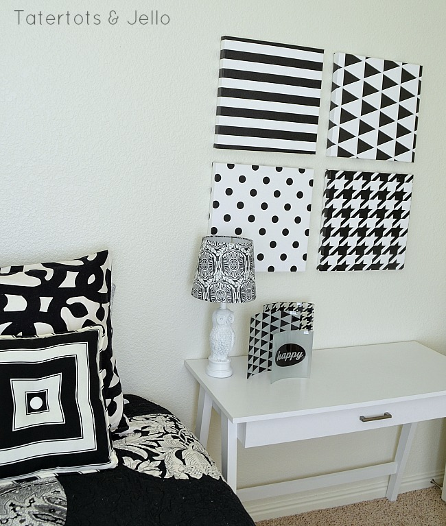 black and white decor ideas TTJ