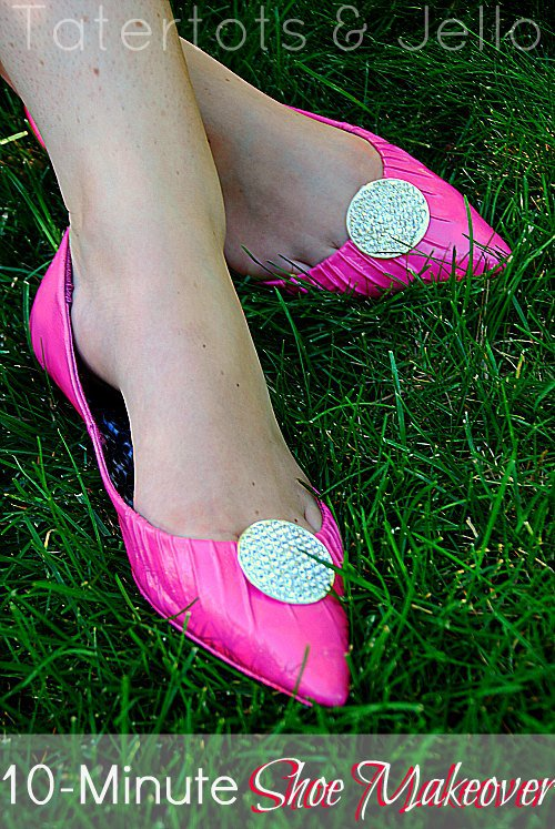 10-minute-shoe-makeover-grass