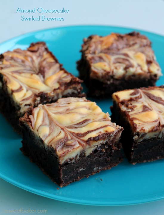 Almond-Cheesecake-Swirled-Brownies