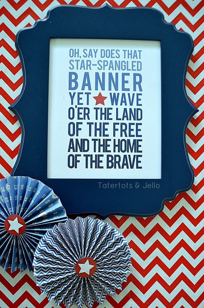 patriotic printable at tatertots and jello