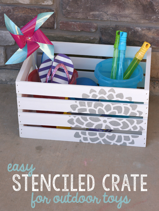 diy-stenciled-crate