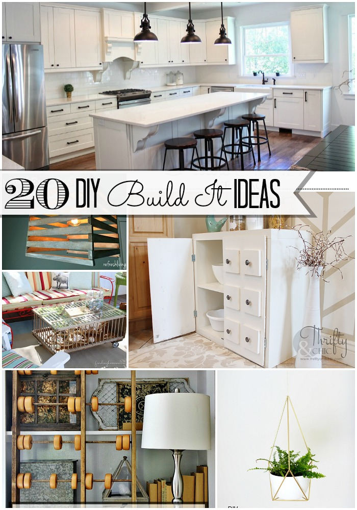20 build it ideas at tatertots and jello