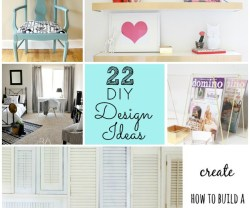 22 diy design ideas for your home