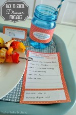 "Back to School Dinner ""Awesome"" (Free) Printables!!"
