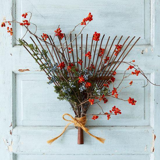 rake wreath
