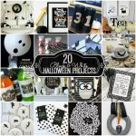 Great Ideas — 20 Black & White Halloween Projects!