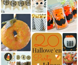 Great Ideas — 20 Halloween Party Ideas!