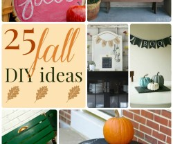 Great Ideas — 25 Fall DIY Ideas!