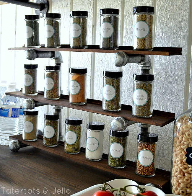 industrial spice rack how to at tatertots and jello