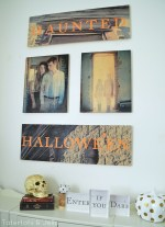 Halloween Gallery Wall and Free Printables!