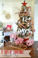 12 Days of Christmas Advent Tree!!
