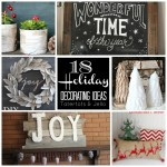 Great Ideas — 18 DIY Holiday Decor Ideas!