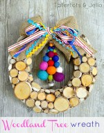 Woodland Christmas Tree Wreath & Blog Hop!
