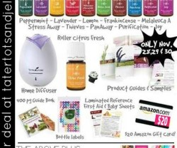 Black Friday Essential Oils Sale! {Over $150 in Freebies!!}
