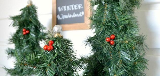 winter wonderland trees at tatertots and jello