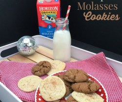 Ginger Molasses Chewy Cookie Recipe