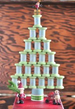 HAPPY Holidays: DIY Washi Tape Spool Tree