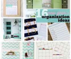 Great Ideas — 16 New Year's Organization Ideas!