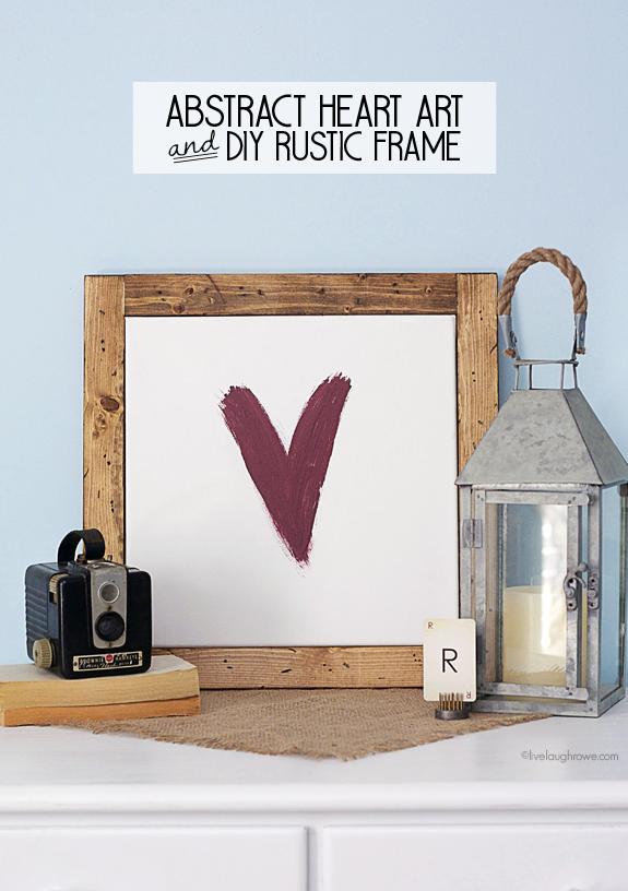 Abstract Heart Art