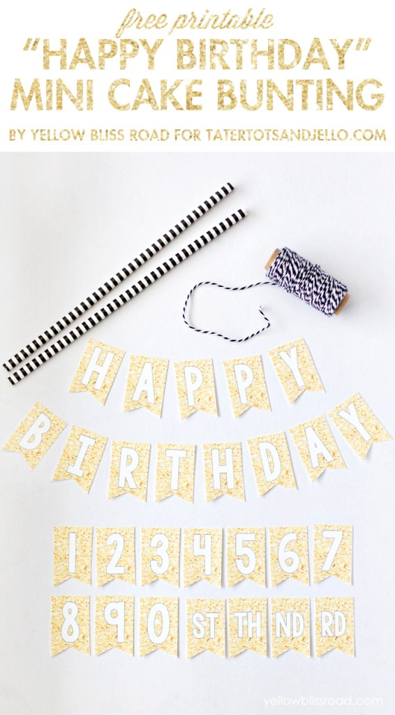 Gold-Glitter-Mini-Cake-Bunting-Free-Printable