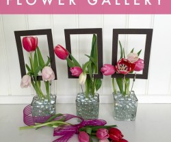 Spring Flower Gallery (10-Minute Project!)