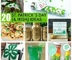 Great Ideas — 20 St. Patrick's Day {& Irish} Ideas!
