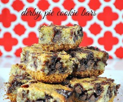 Derby Pie Cookie Bars