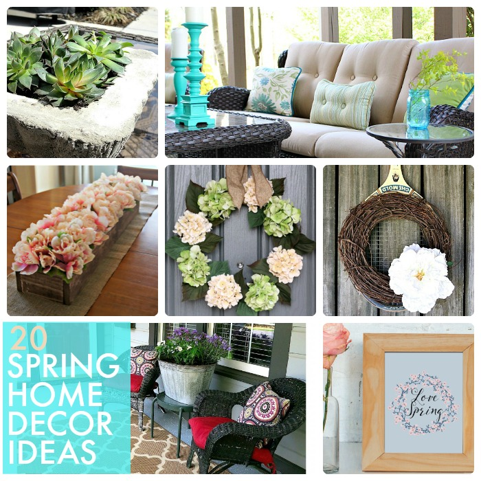 Great ideas 20 spring home decor ideas for Great home decor ideas