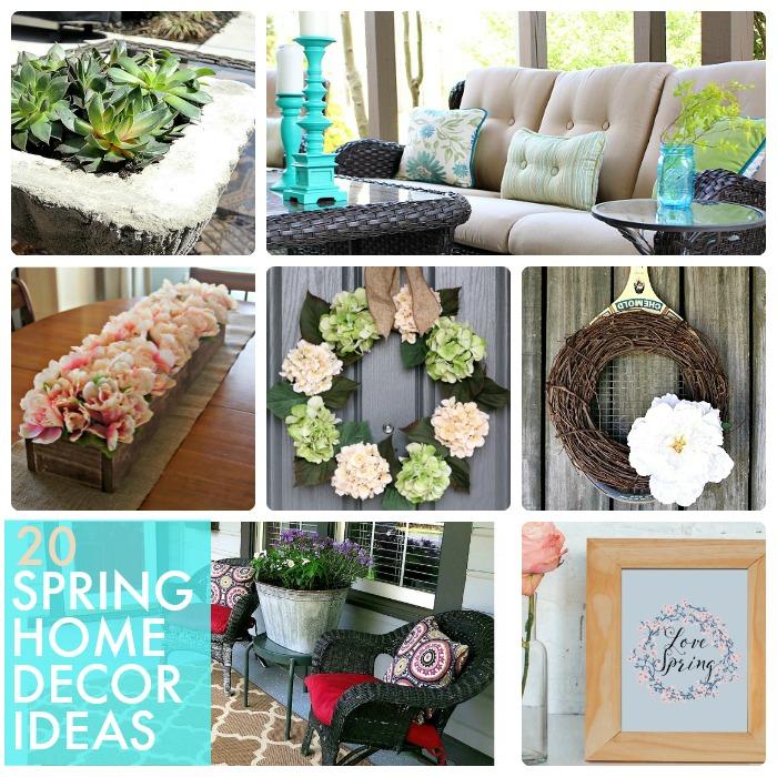 home design decorating ideas spring