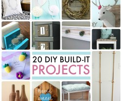 Great Ideas — 20 DIY Build-It Projects!