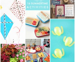 Great Ideas — 16 Summertime Activities!