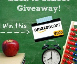 Link Party Palooza — and $500 Back to School Giveaway!