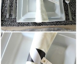 DIY Thanksgiving Place Setting Idea
