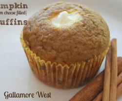 Pumpkin Cream Cheese Filled Muffin Recipe!