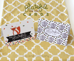 Grateful For You Printable Cards