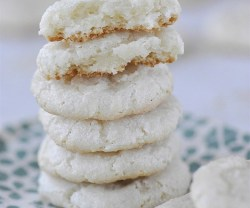 Happy Holidays: Chewy Almond Cookies